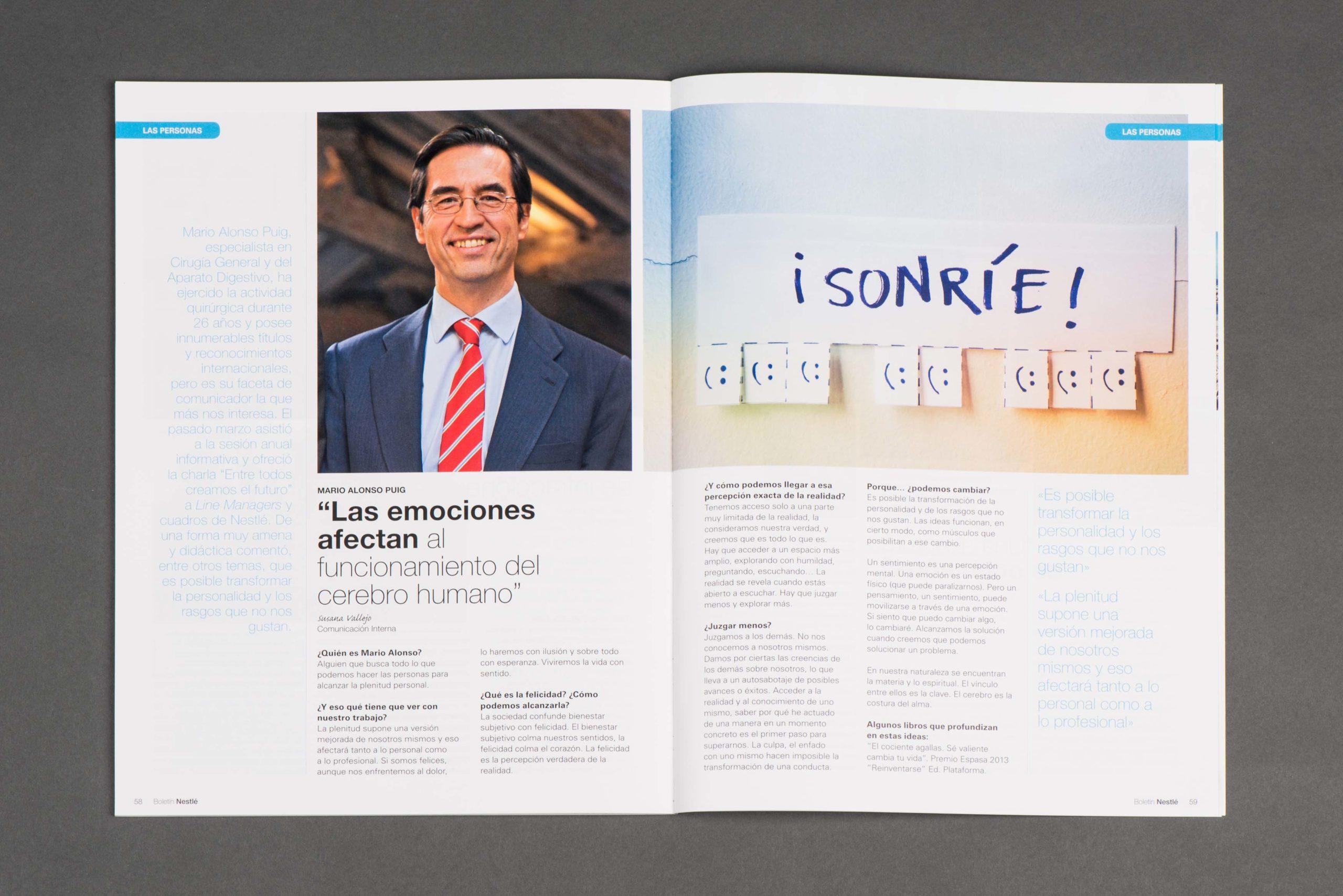 servicios de edicion y publicaciones corporativa revista interna 1
