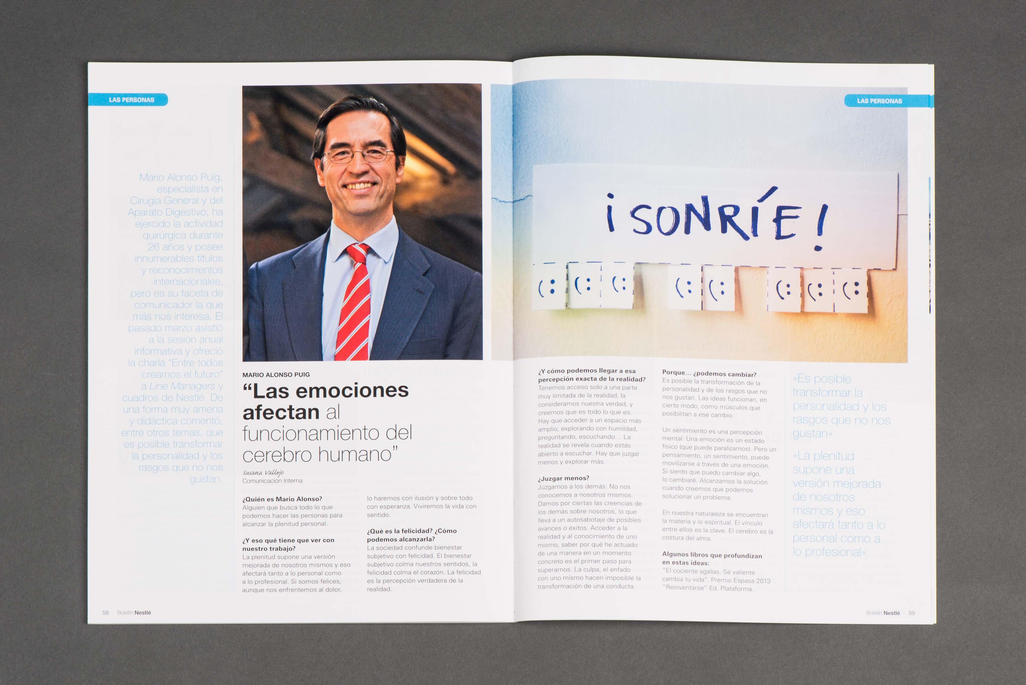serveis d'edicion i publicacions corporativa revista interna 1