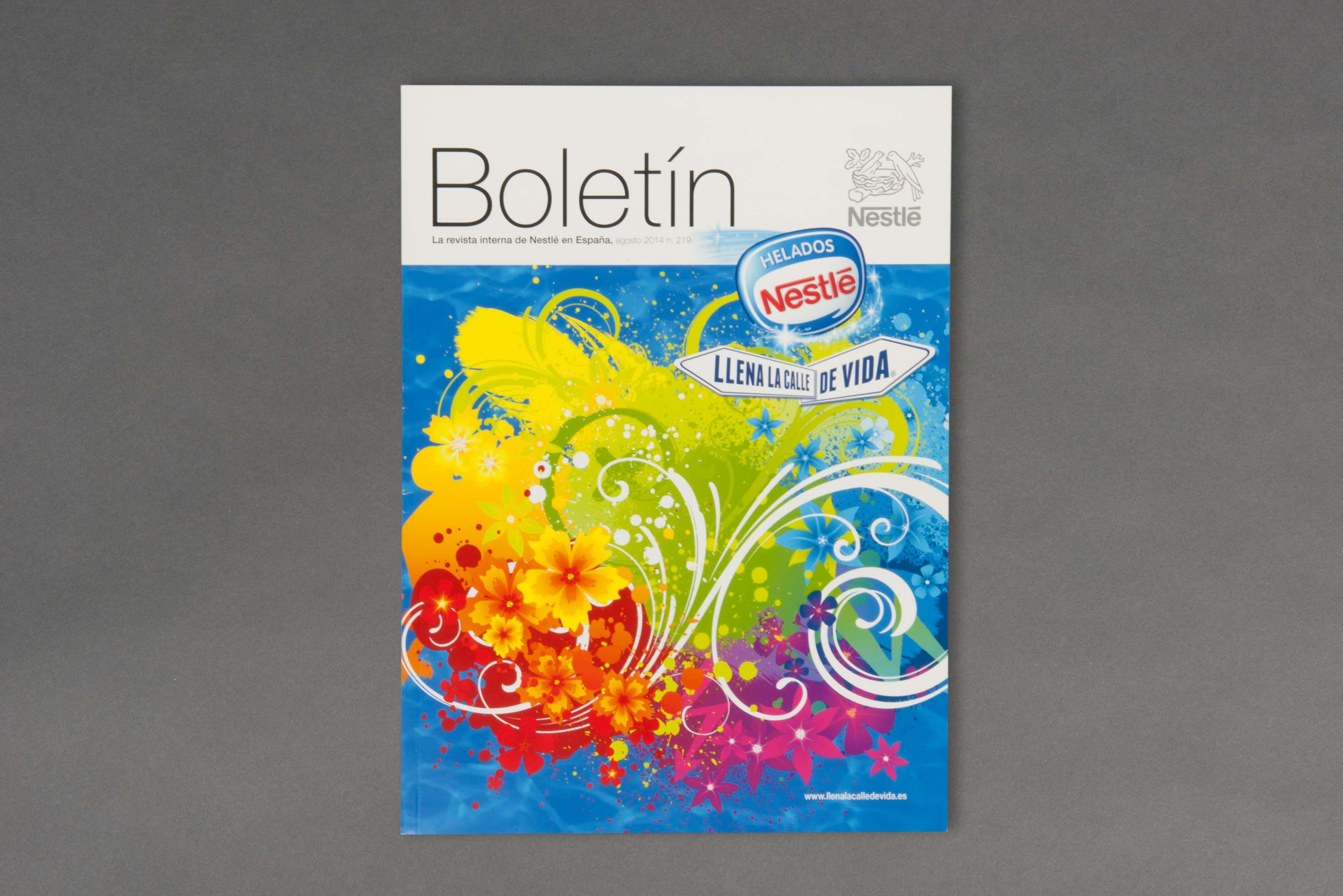 servicios de edicion y publicaciones corporativa revista interna portada