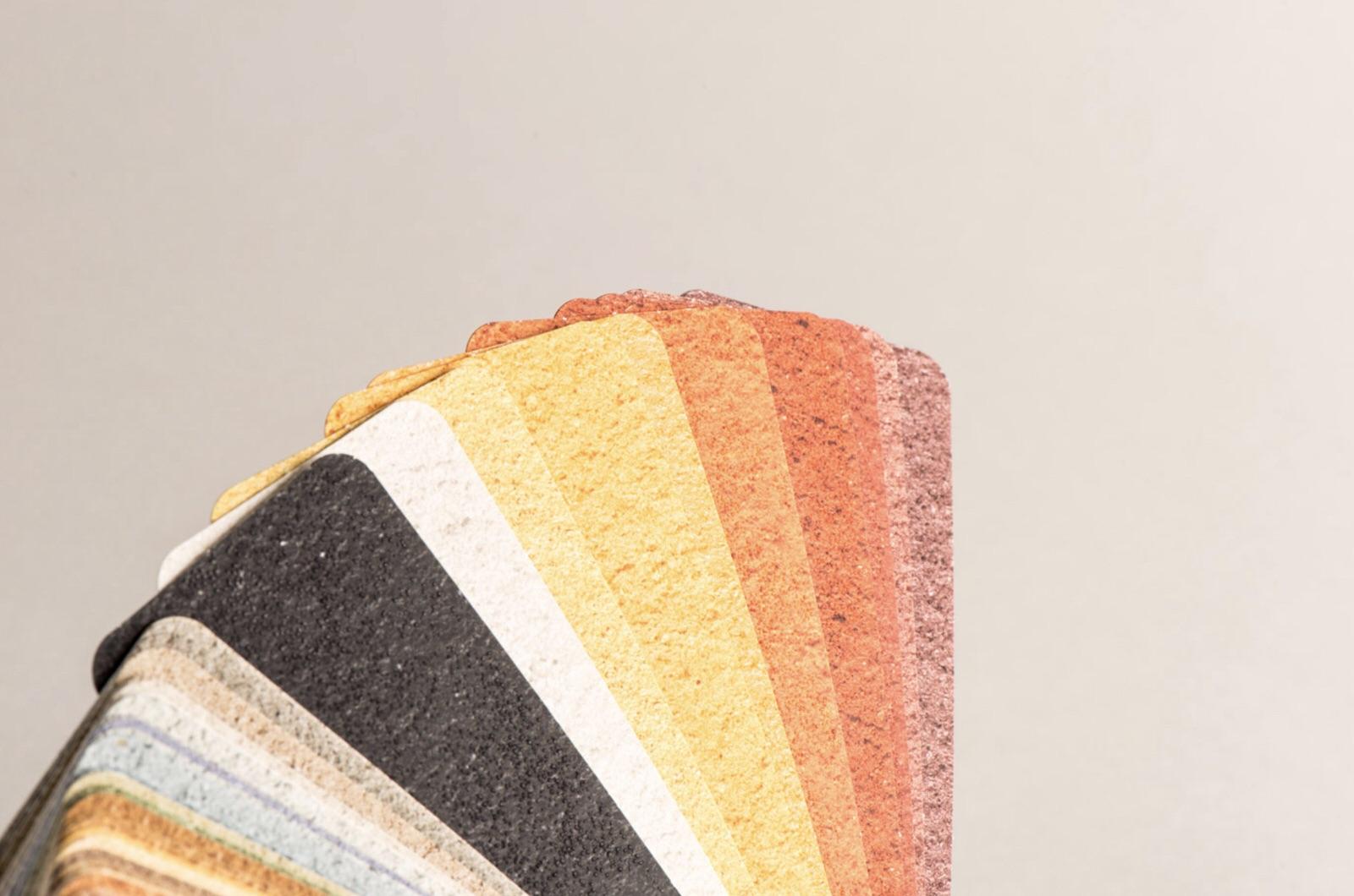 Carta de colores y texturas 2