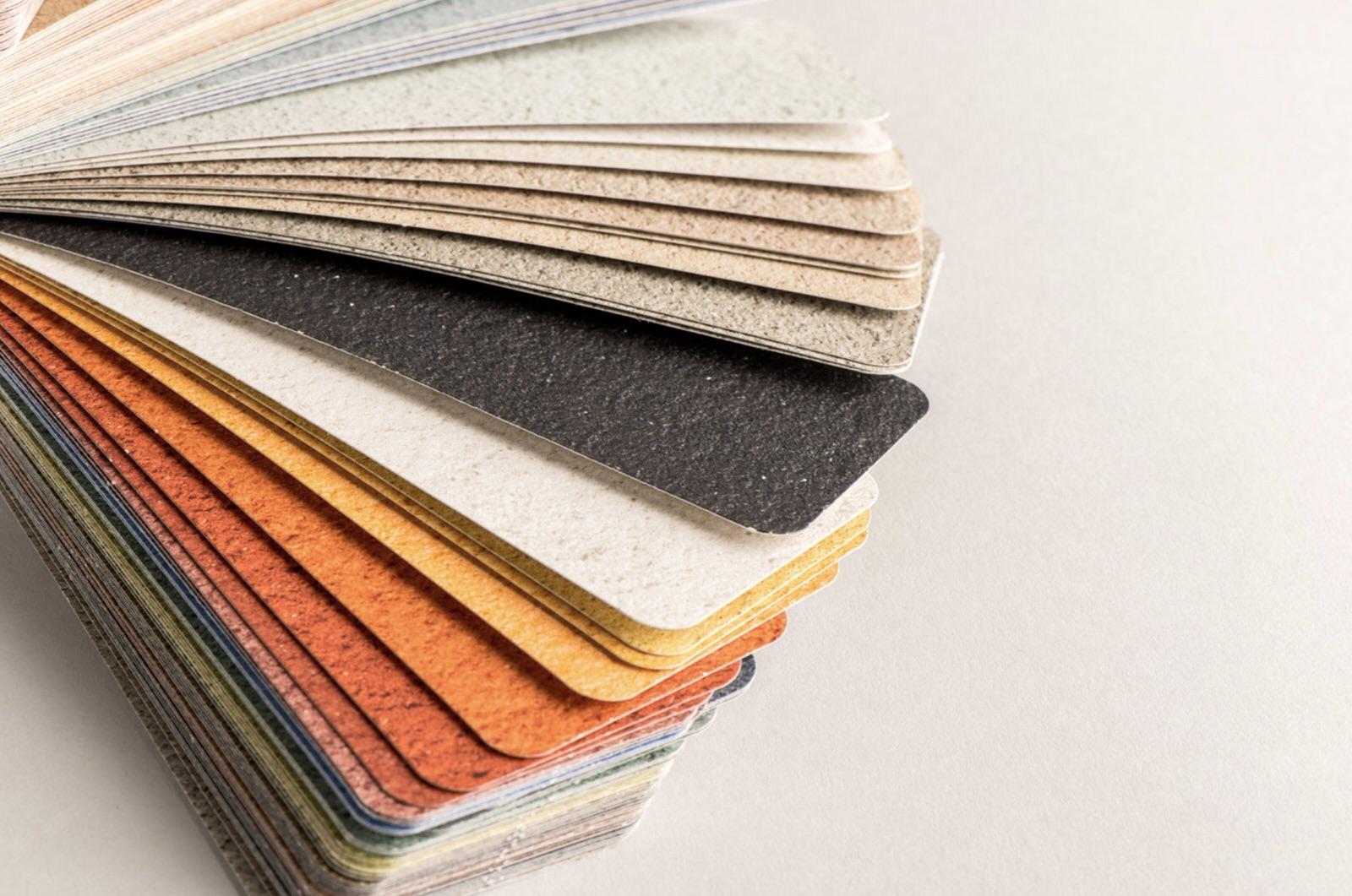 Carta de colores y texturas 3