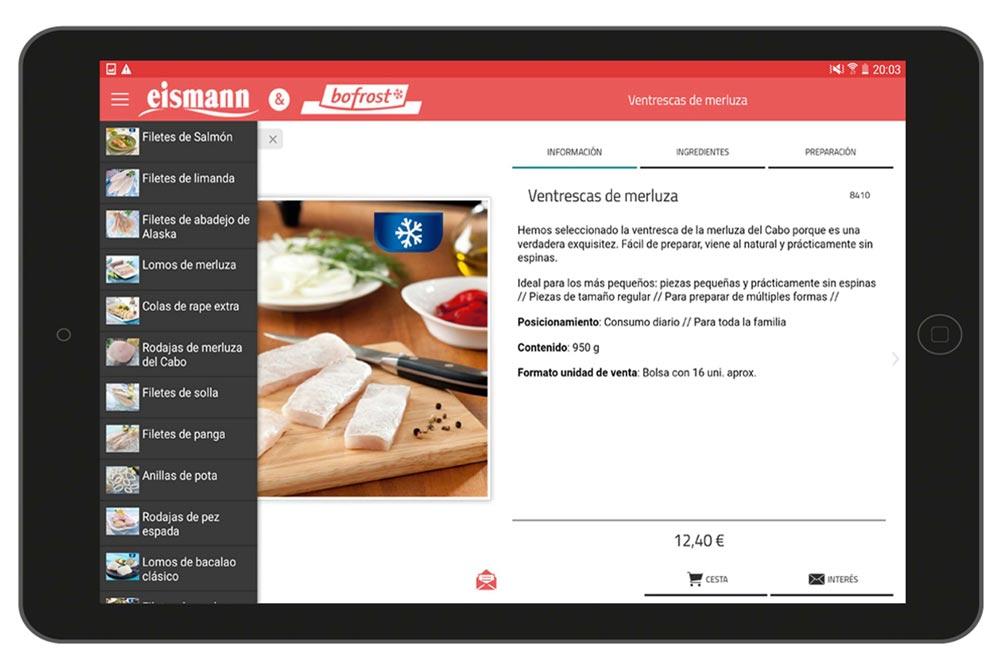 Catàleg interactiu per a vendes