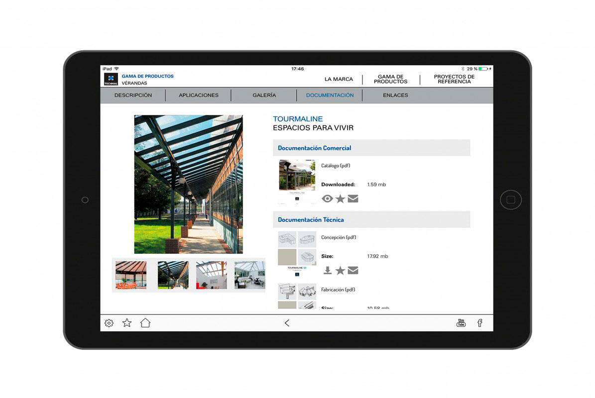 Catàleg multimèdia per a empresa