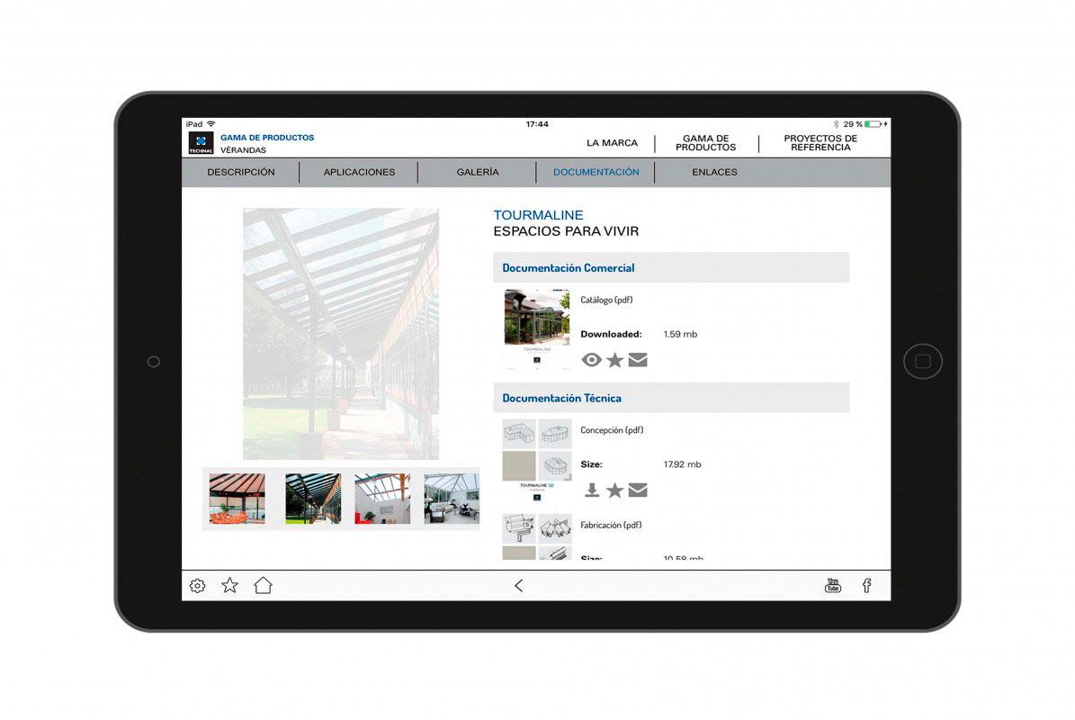 Catálogo multimedia para empresa