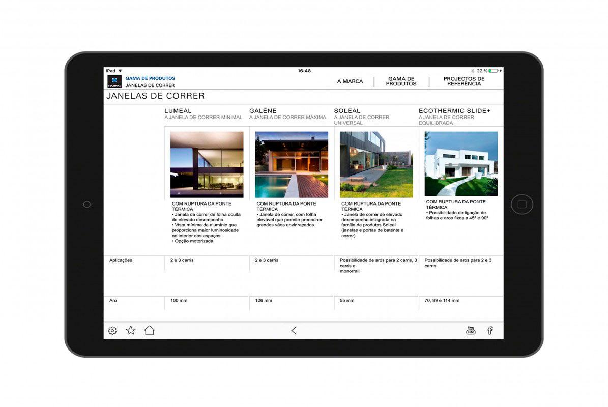 Catàleg multimèdia amb gamma de productes