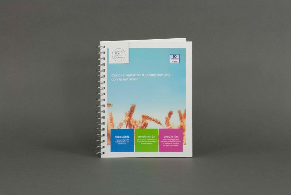 Diseño e impresión de materiales de marketing CeGe
