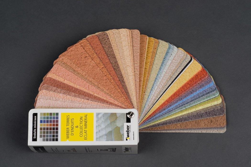 Carta de colores y texturas