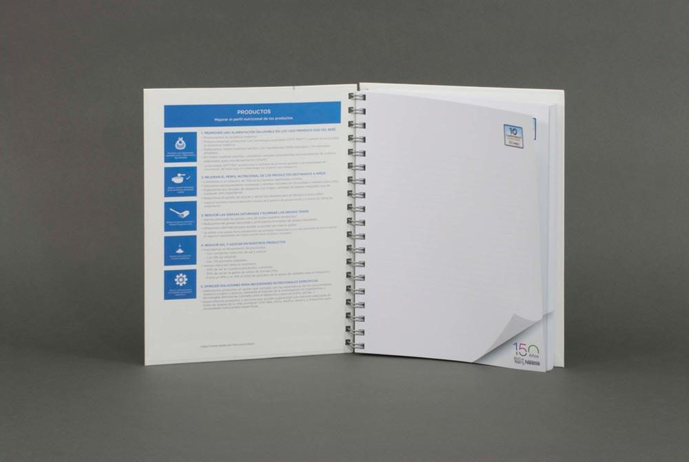 Impresión de materiales de marketing y formación