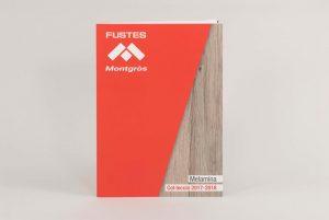 Muestrario tipo revista para empresa de maderas
