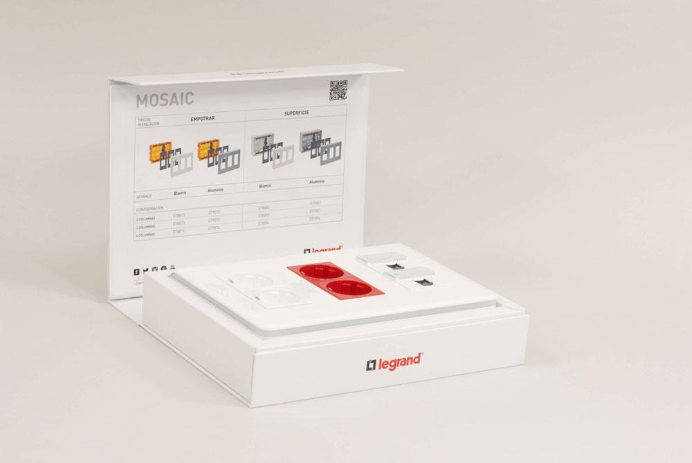 Diseño de pack presentación para punto de venta CeGe