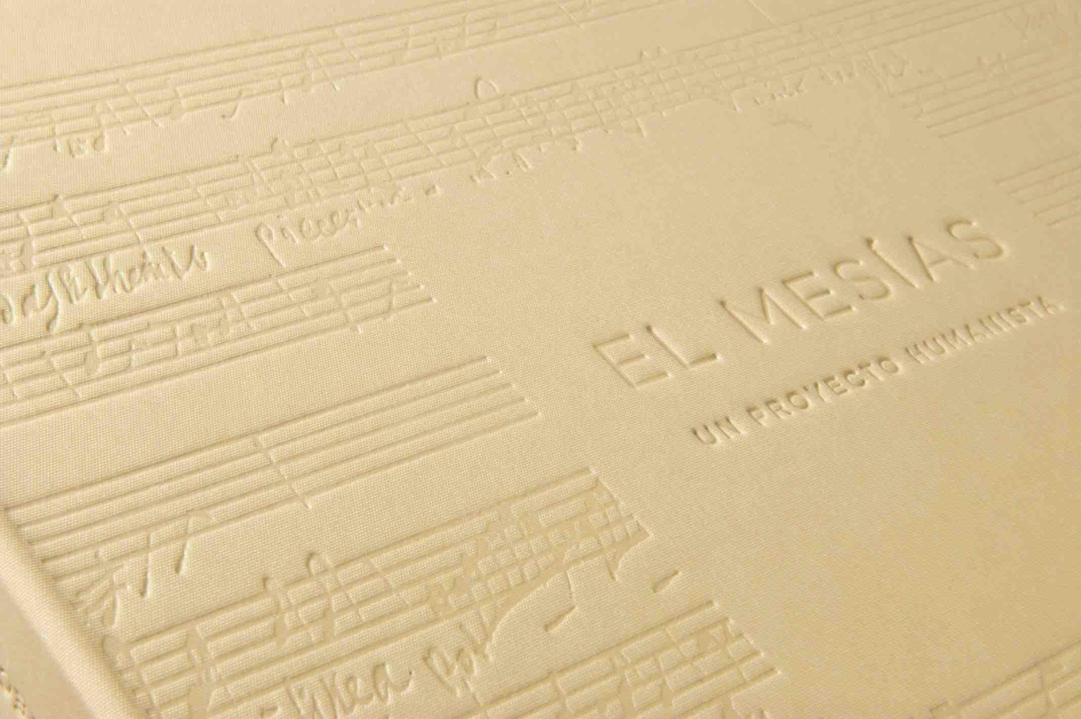 portada de llibre amb stamping