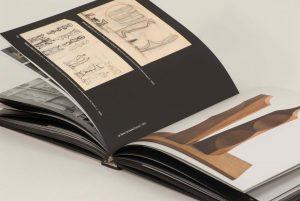Livre d'art ouvert spécialement conçu