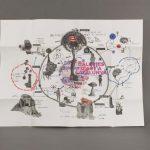 Libro de arte abierto