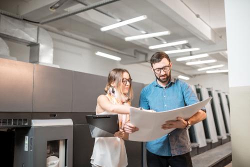Dos expertos en Print Management analizan un proyecto