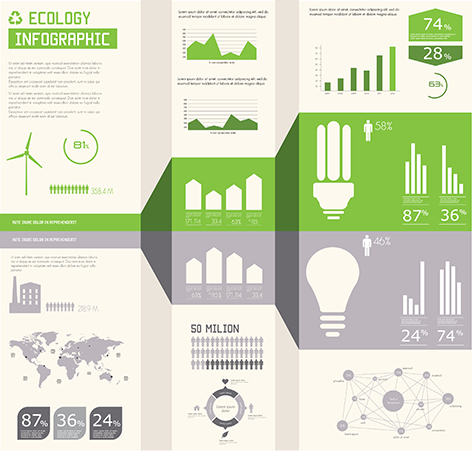 Infografía de responsabilidad social corporativa