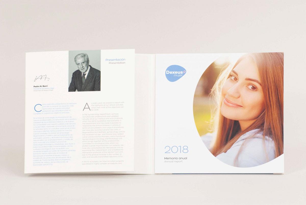 Memòria corporativa anual Dexeus 2018