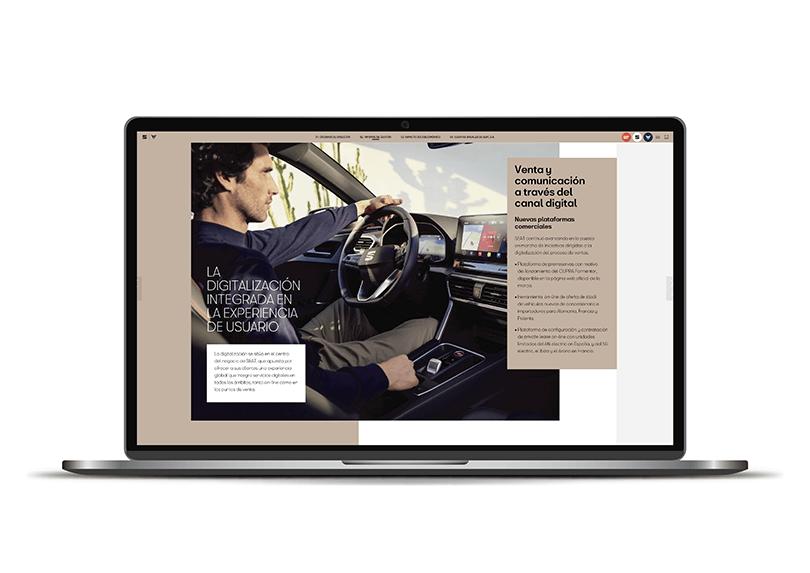 Memòria anual impresa i digital SEAT 2020